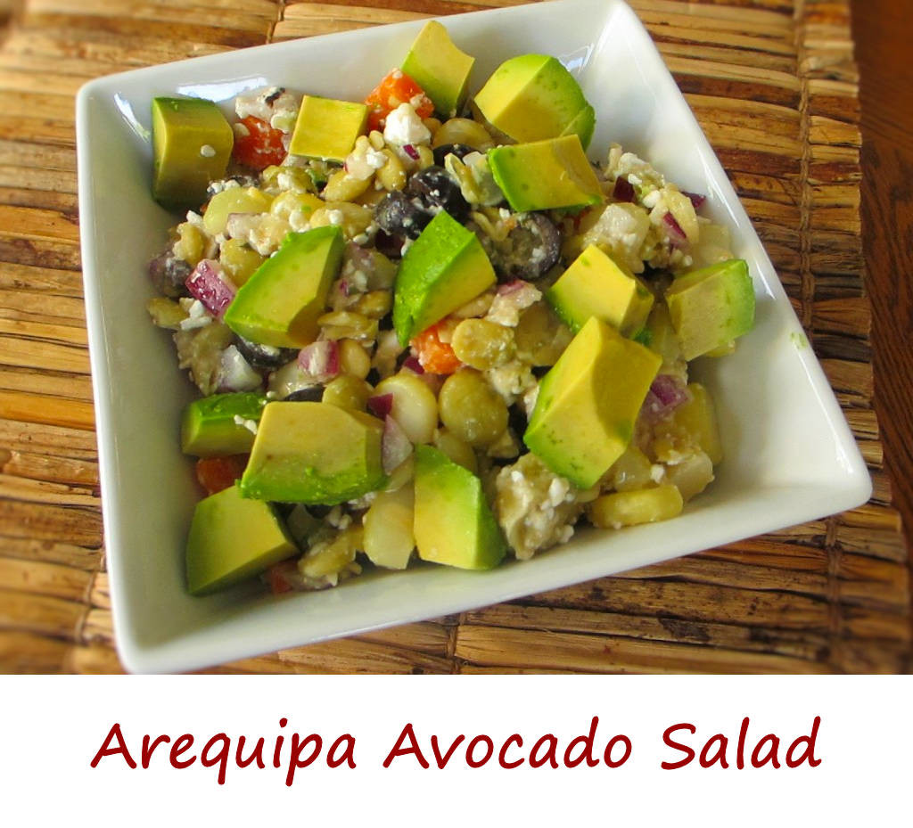 Arequipa Avocado Salad