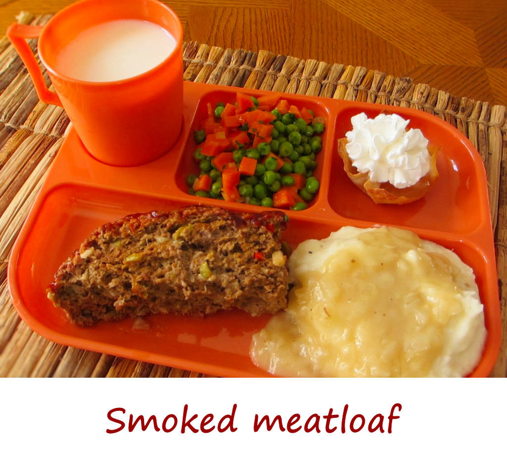 Meatloaf TV Dinner Part 1 - The smoked meatloaf