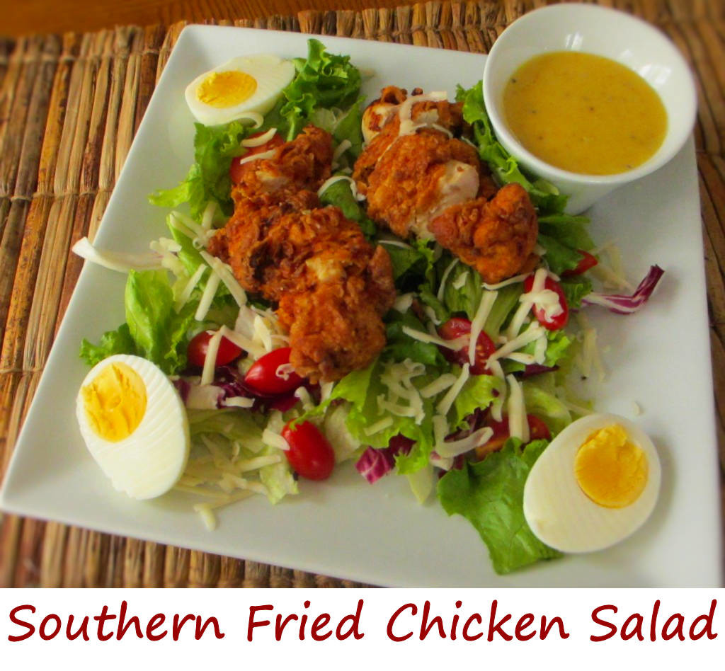 Southern Fried Chicken Salad * Life's A TomatoLife's A Tomato