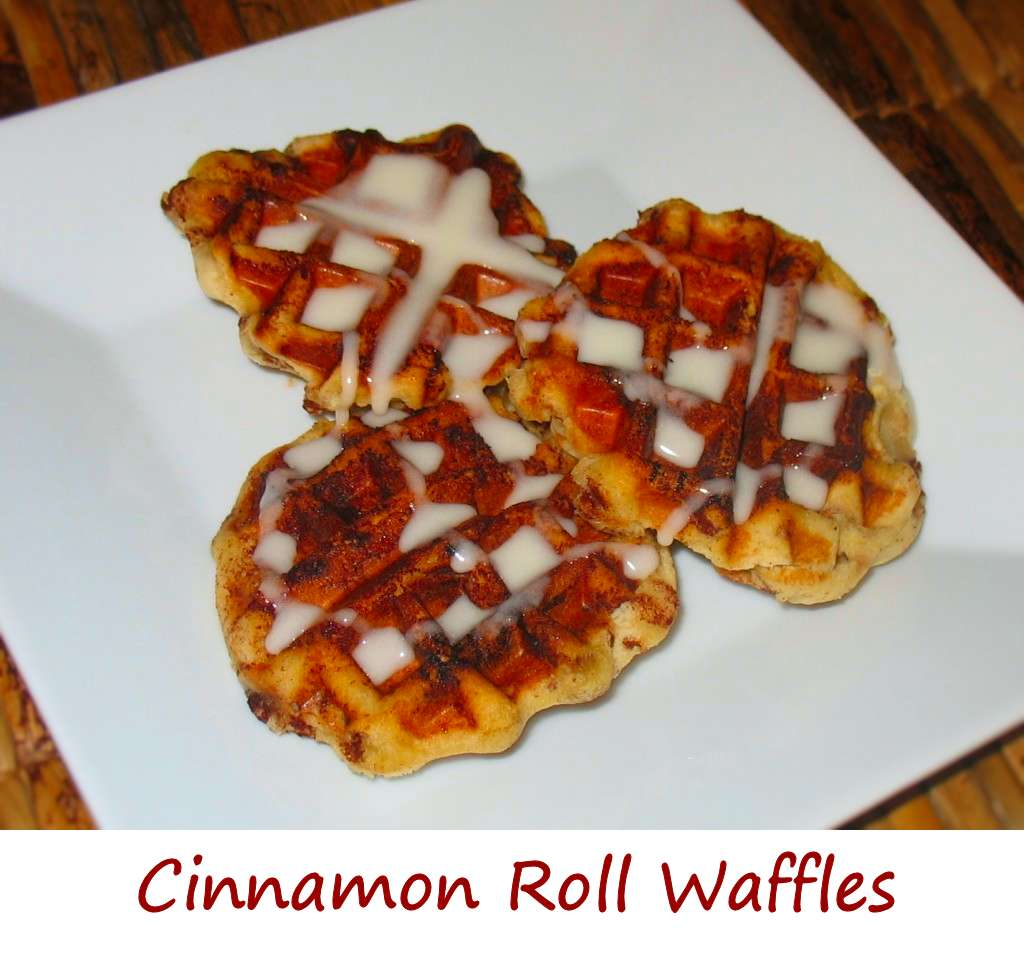 Cinnamon Roll Waffles - Life's A TomatoLife's A Tomato
