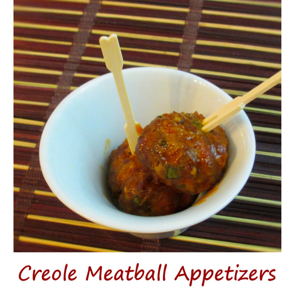 Creole Meatball Appetizers - Life's A TomatoLife's A Tomato