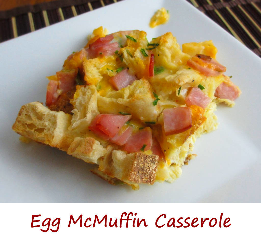 Egg McMuffin Casserole