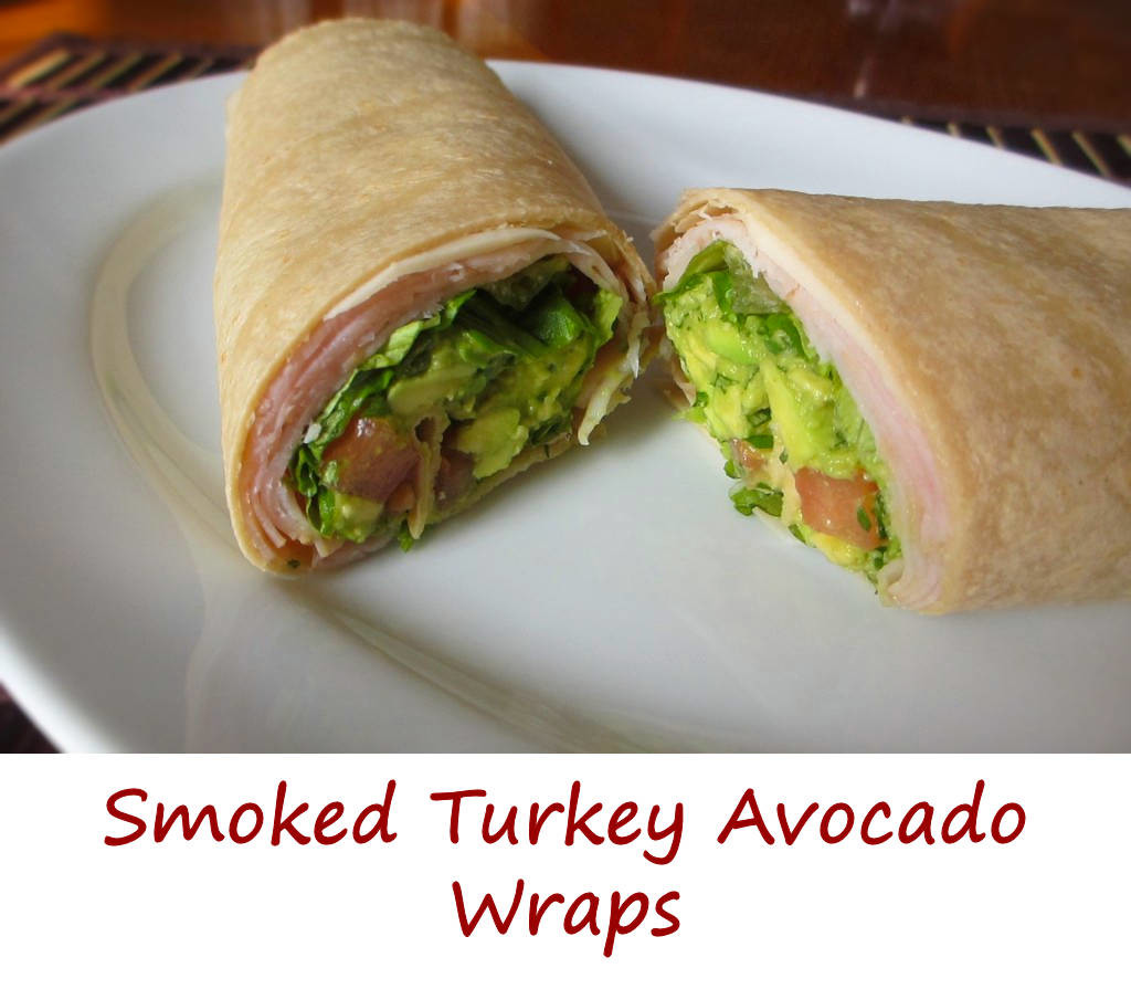 Smoked Turkey Avocado Wraps