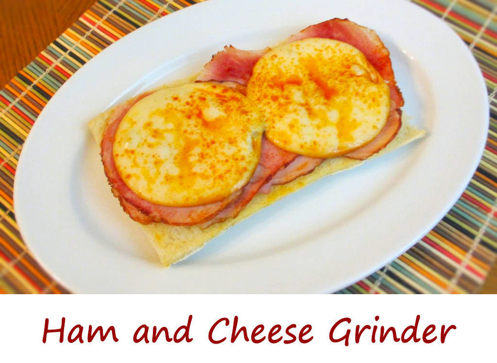 Ham and Cheese Grinder