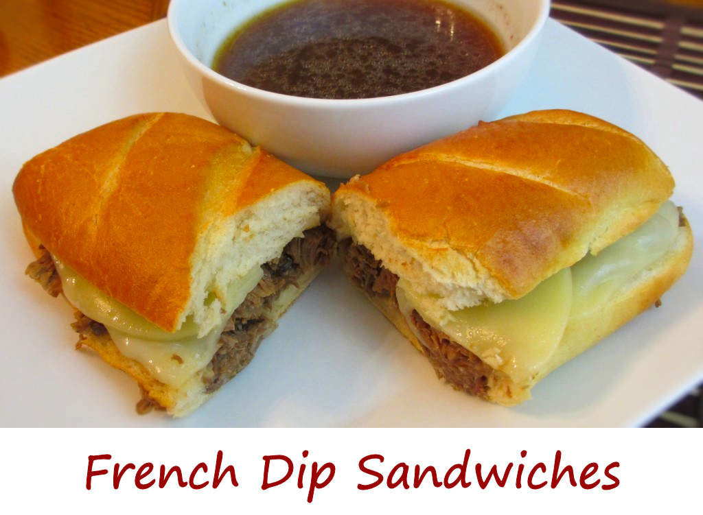 French Dip Sandwiches Recipe — Dishmaps