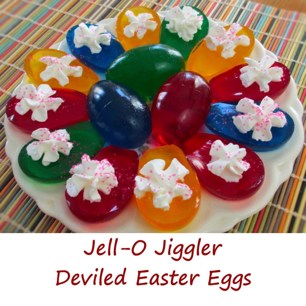 Jell-O Jiggler Deviled Easter Eggs