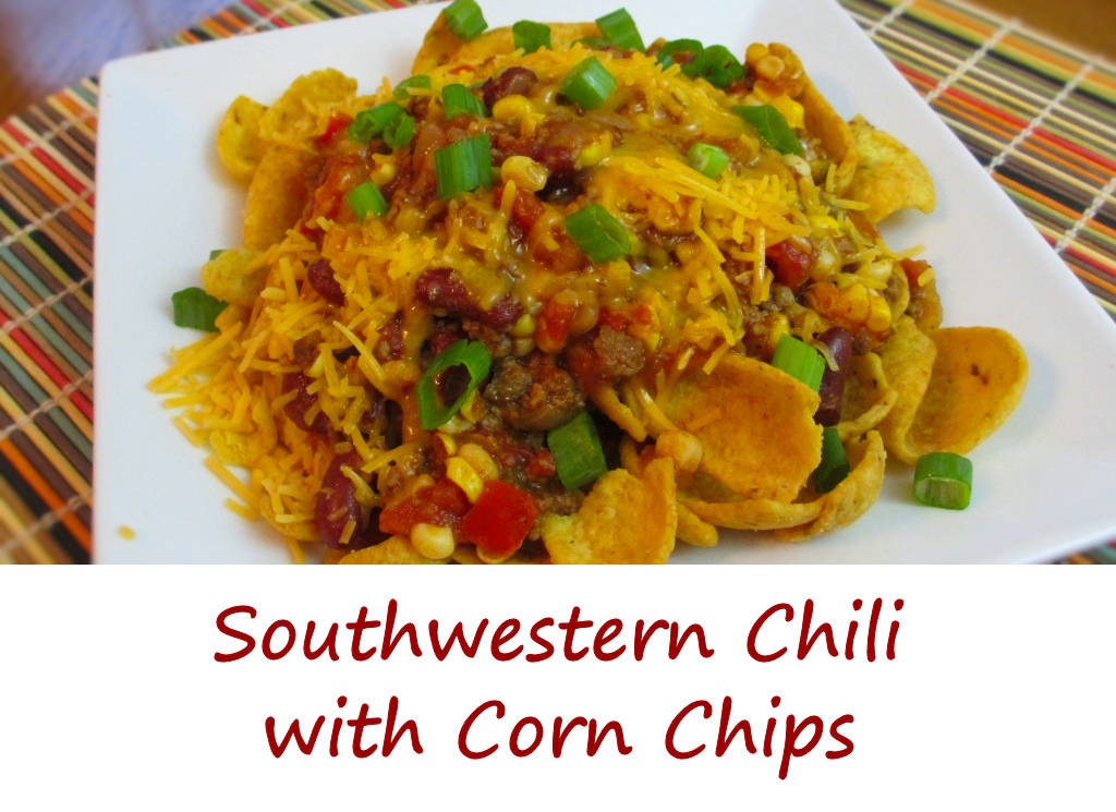 Southwestern Chili with Corn Chips