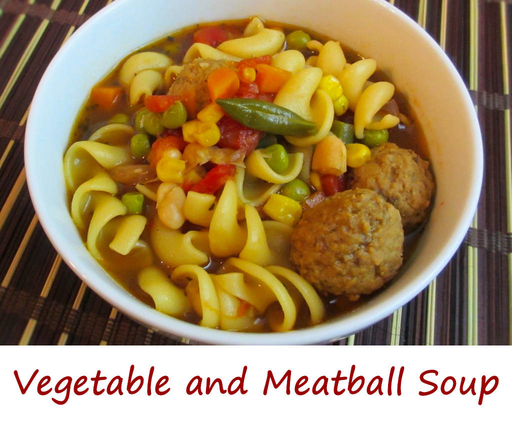 Vegetable and Meatball Soup