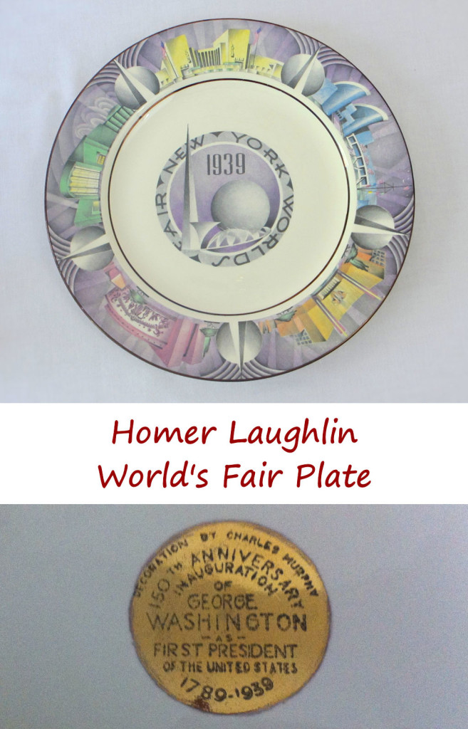 Homer Laughlin World's Fair Plate