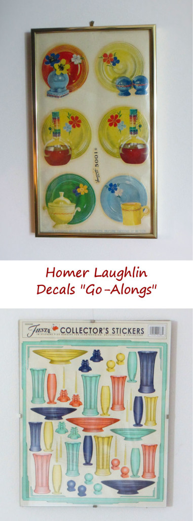 "Homer Laughlin Decals ""Go-Alongs"""