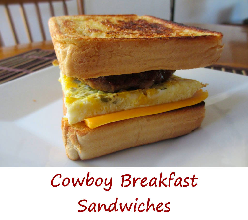 Cowboy Breakfast Sandwiches