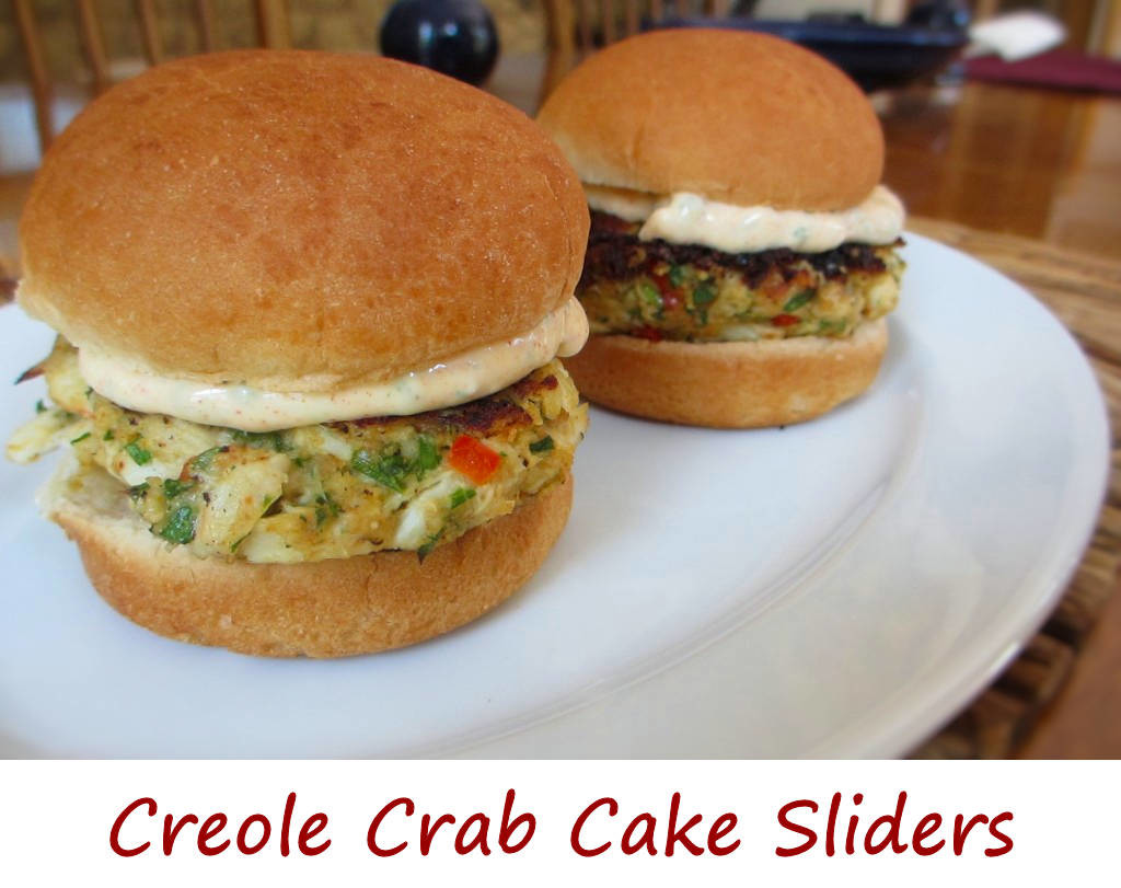 Creole Crab Cake Sliders