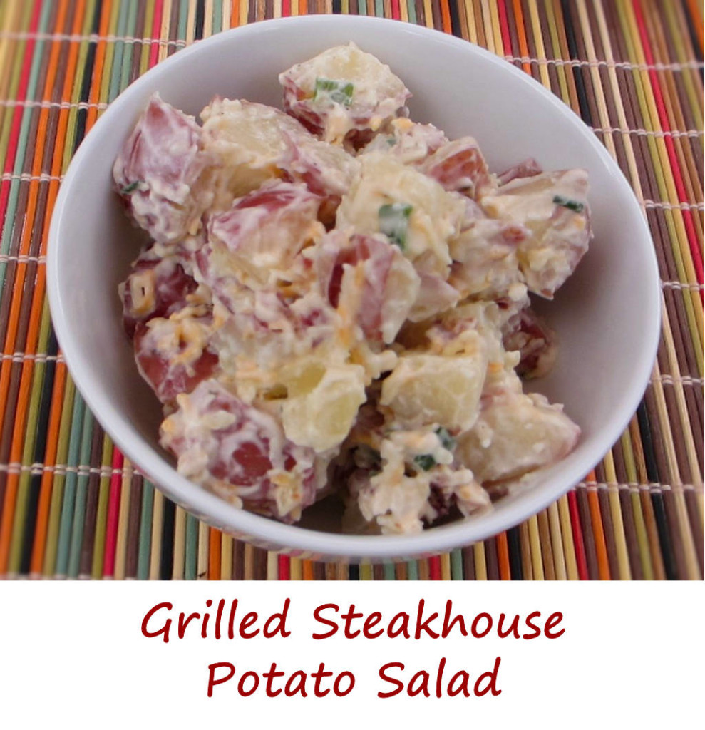 Grilled Steakhouse Potato Salad