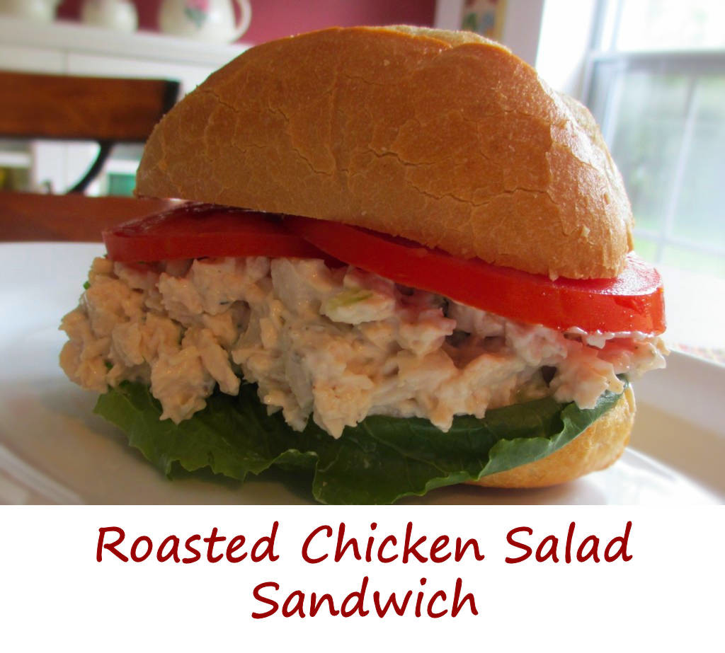 Roasted Chicken Salad With Crunch Recipe — Dishmaps