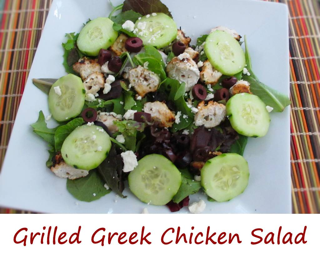 Grilled Greek Chicken Salad - Life's A TomatoLife's A Tomato