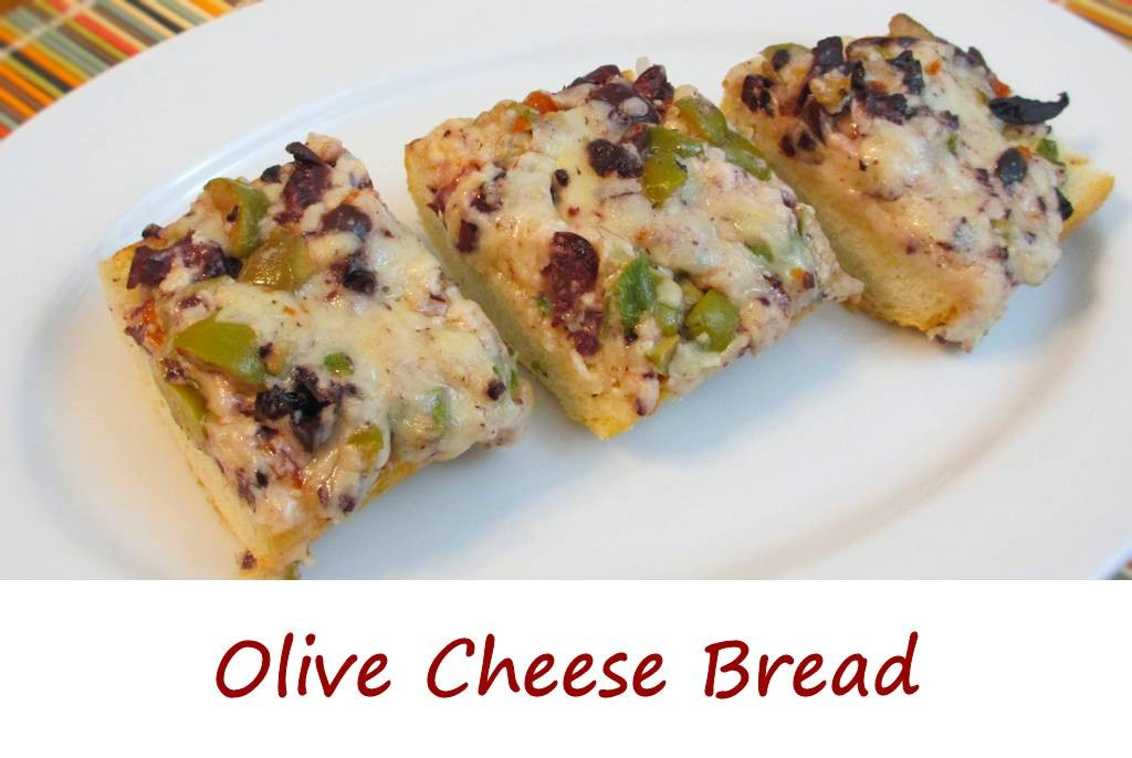 Olive Cheese Bread