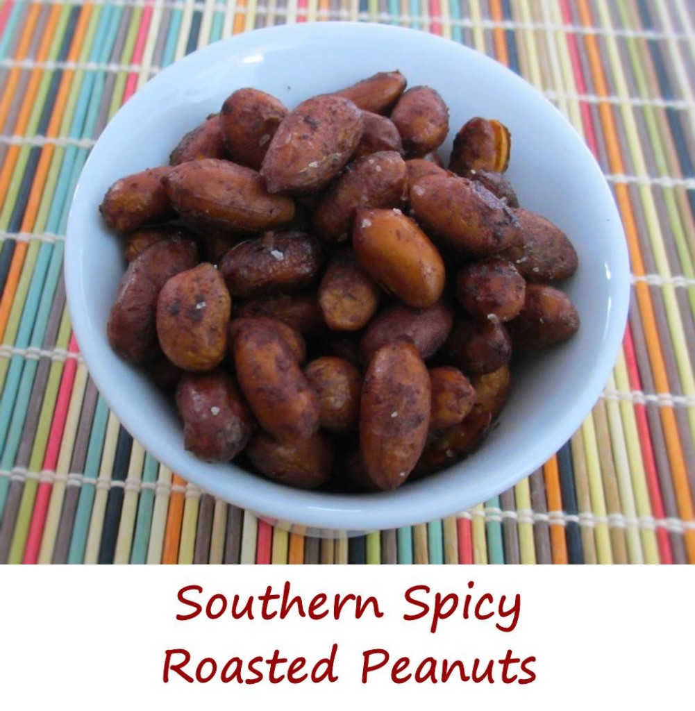 Southern Spicy Roasted Peanuts