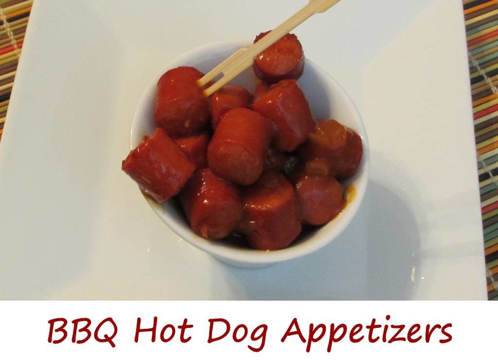BBQ Hot Dog Appetizers