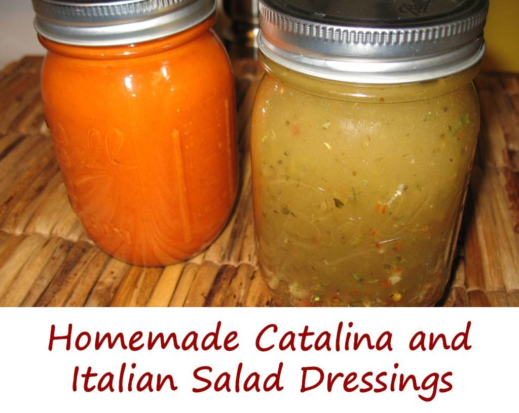 Homemade Catalina Salad Dressing