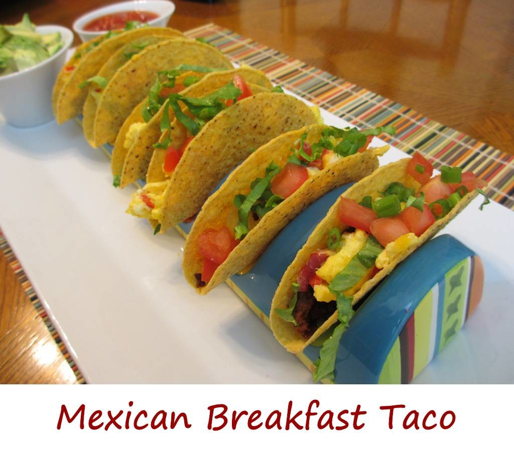 Mexican Breakfast Taco