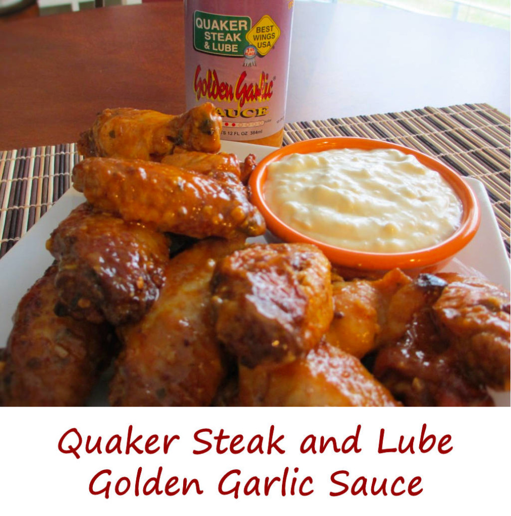 Quaker Steak and Lube Golden Garlic Sauce