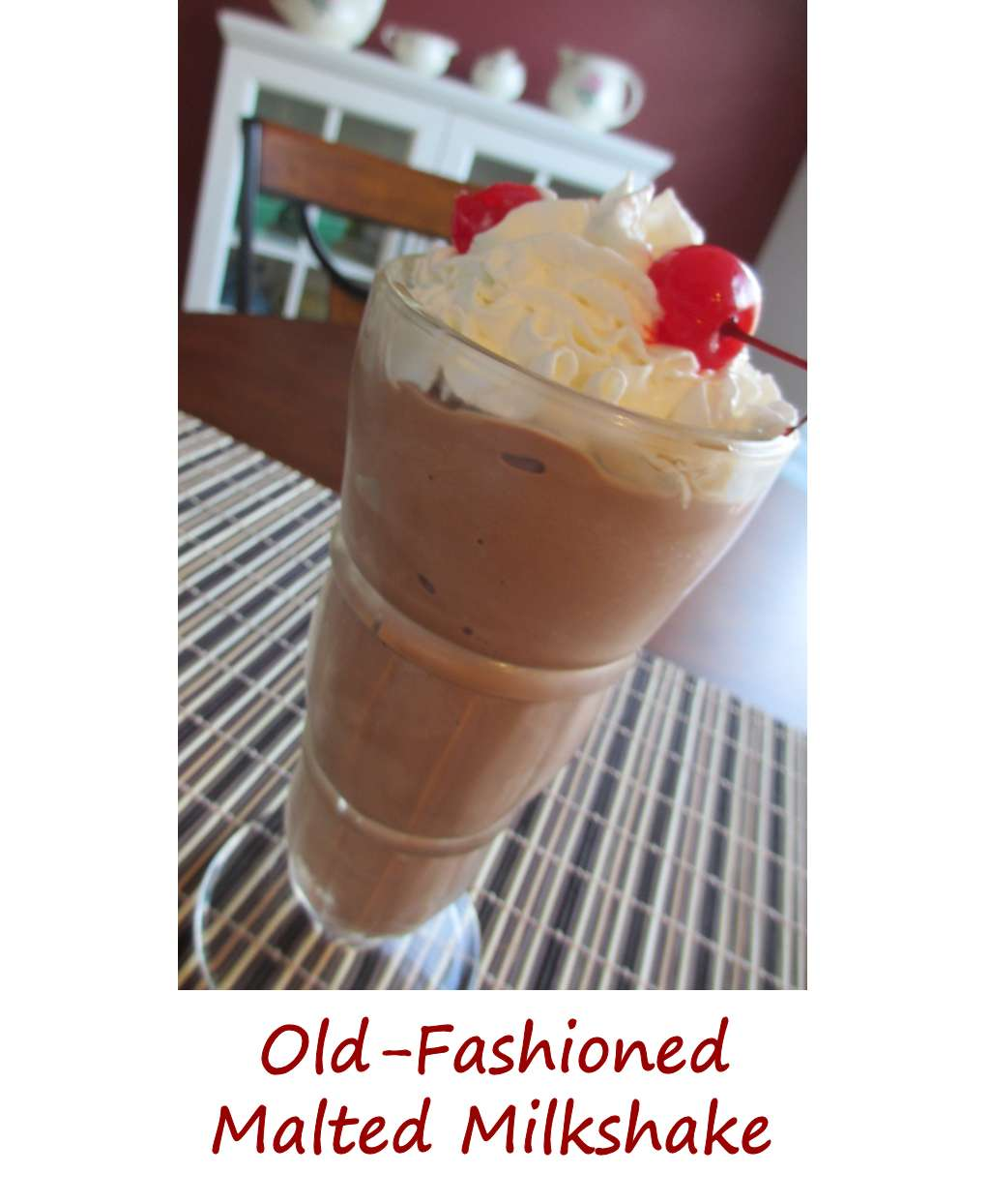 MILK SHAKE - Highland Park Old-Fashioned Soda Fountain ICE 76
