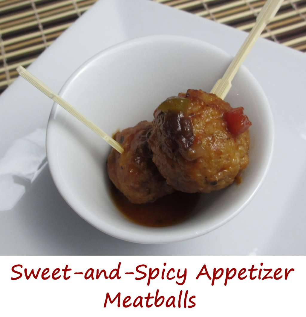 Sweet-and-Spicy Appetizer Meatballs - Life's A TomatoLife's A Tomato