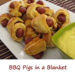BBQ Pigs in a Blanket