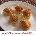 Mini Chicken-and-Waffles