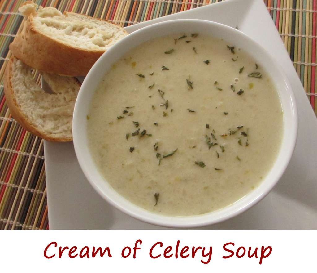 Cream of Celery Soup - Life's A TomatoLife's A Tomato
