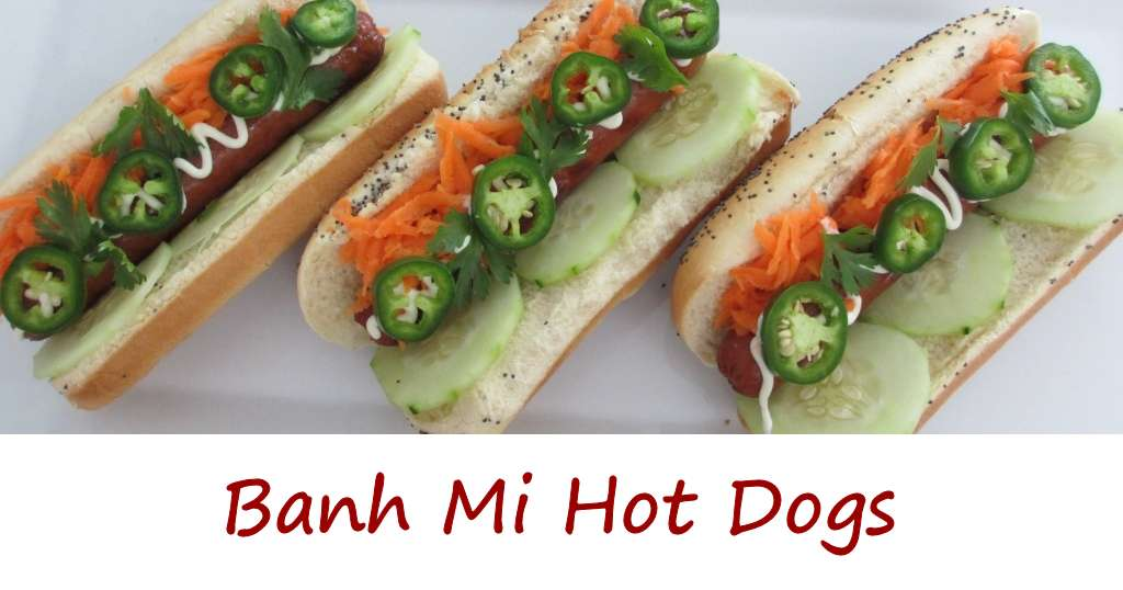 Banh Mi Hot Dogs - Life's A TomatoLife's A Tomato