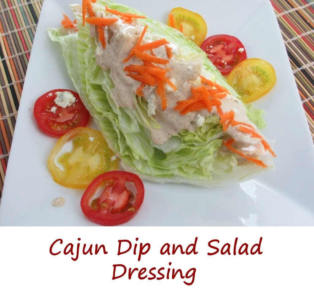Cajun Dip and Salad Dressing