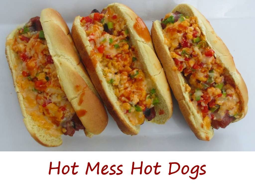 Hot Mess Hot Dogs