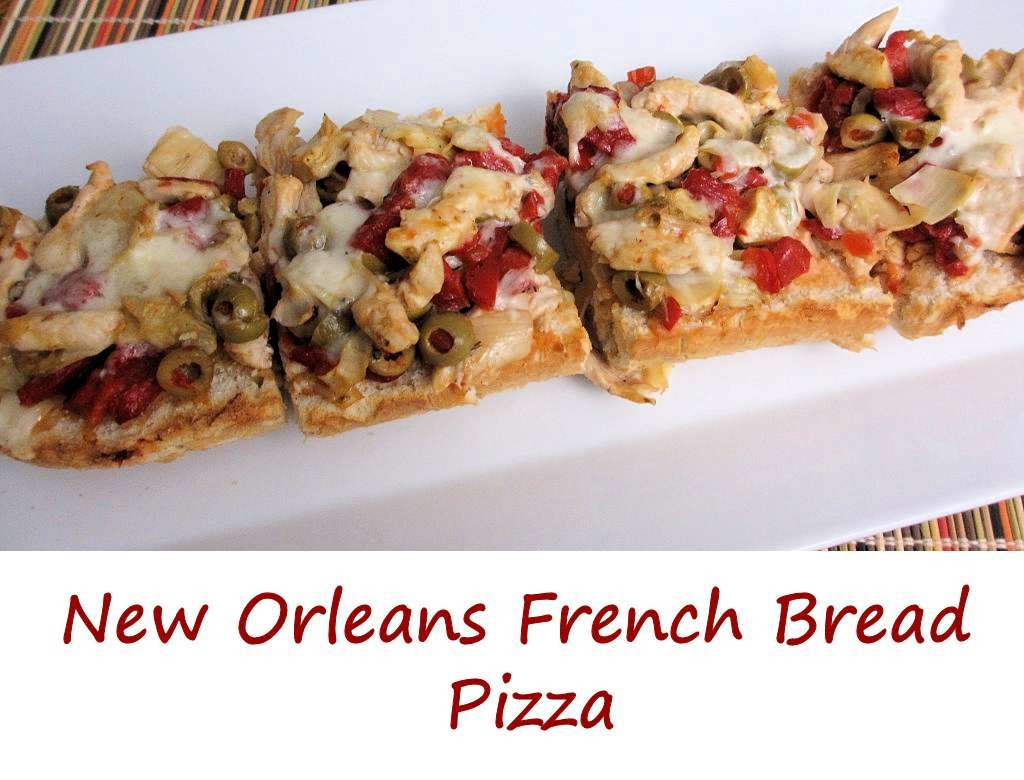 New Orleans French Bread Pizza