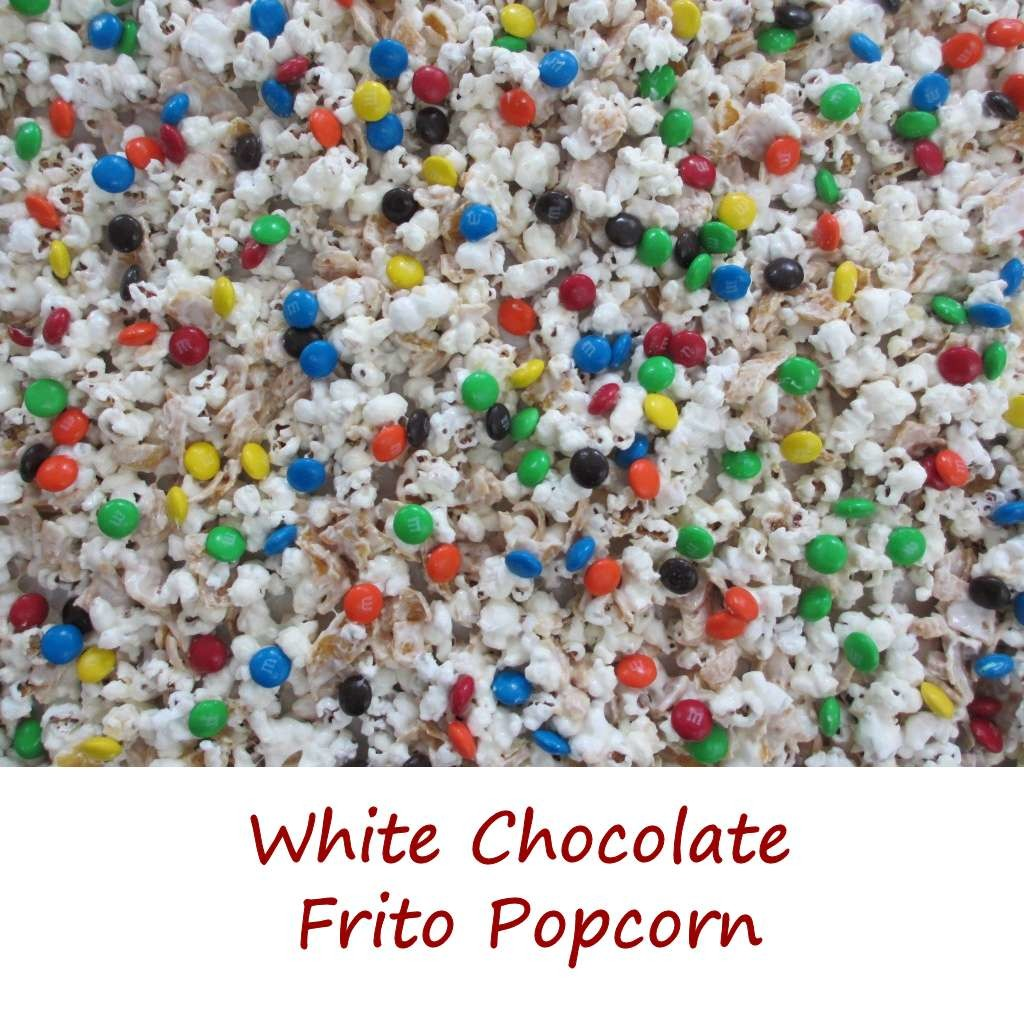 White Chocolate Frito Popcorn