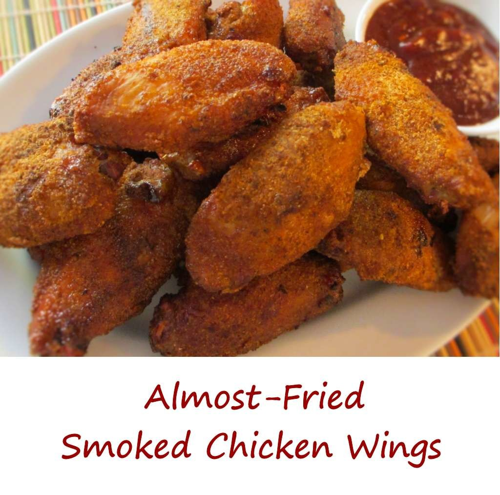 Almost-Fried Smoked Chicken Wings