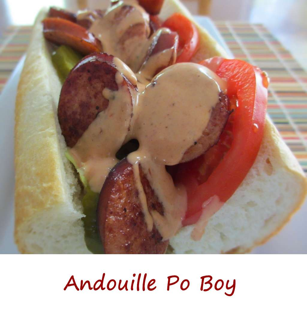 ... po boy from jemil s catfish po boy andouille po boy creolaise recipe