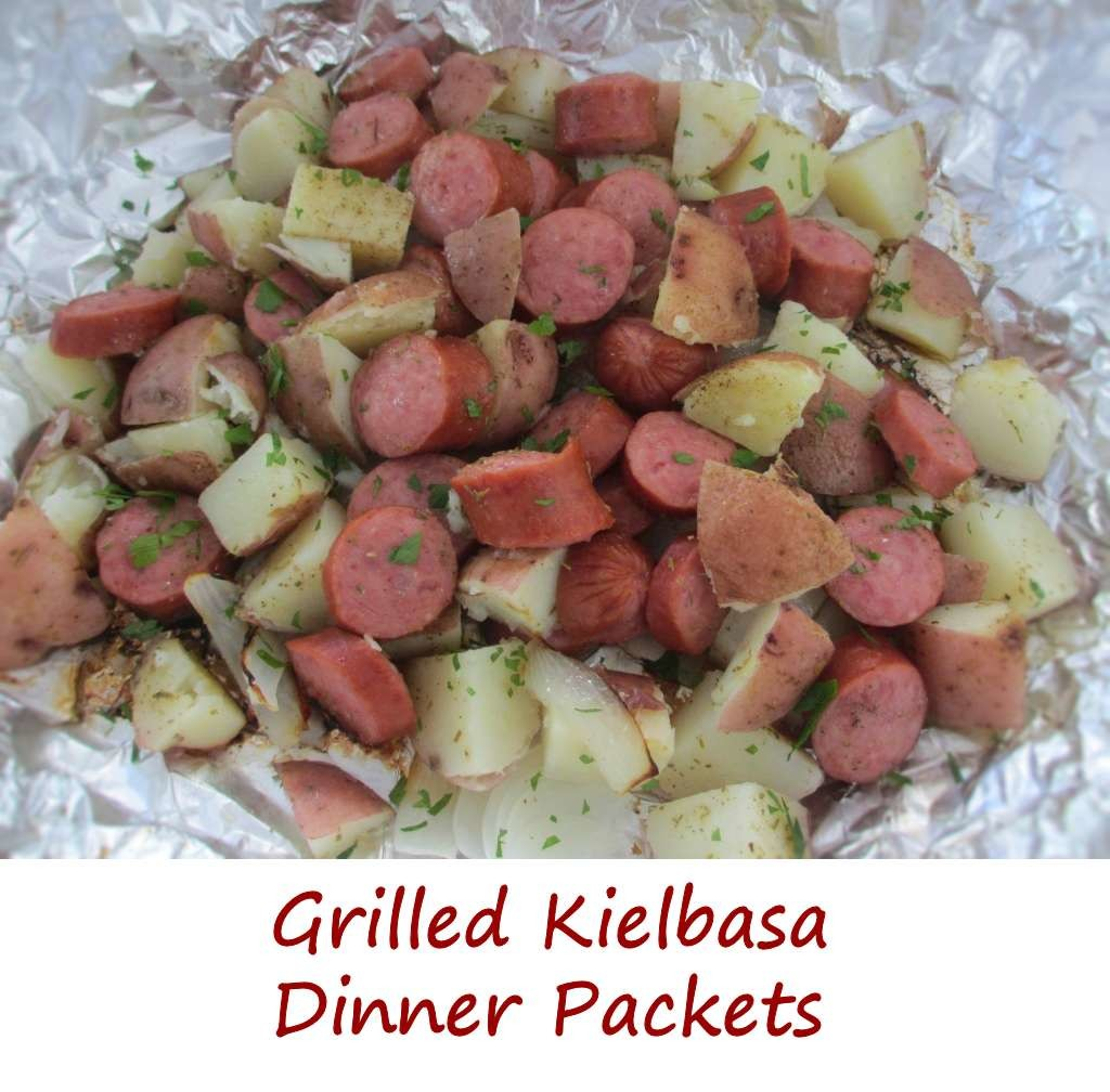 Grilled Kielbasa Dinner Packets