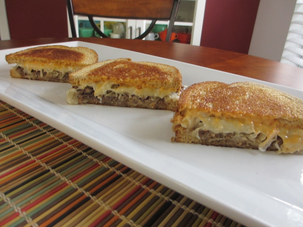 Smoked Pot Roast Reubens