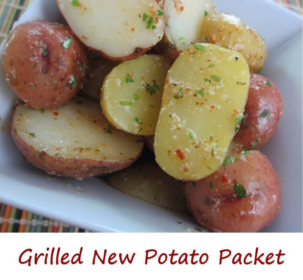 Grilled New Potato Packet