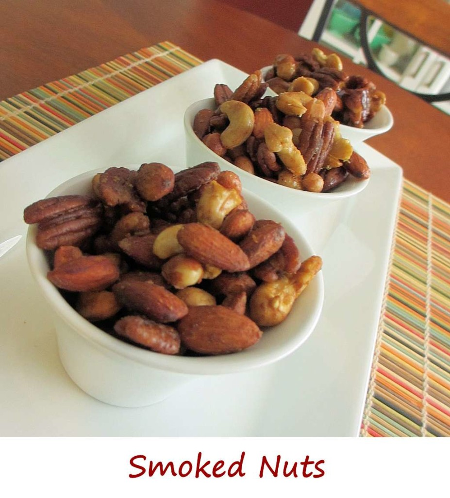 Smoked Spicy Nuts