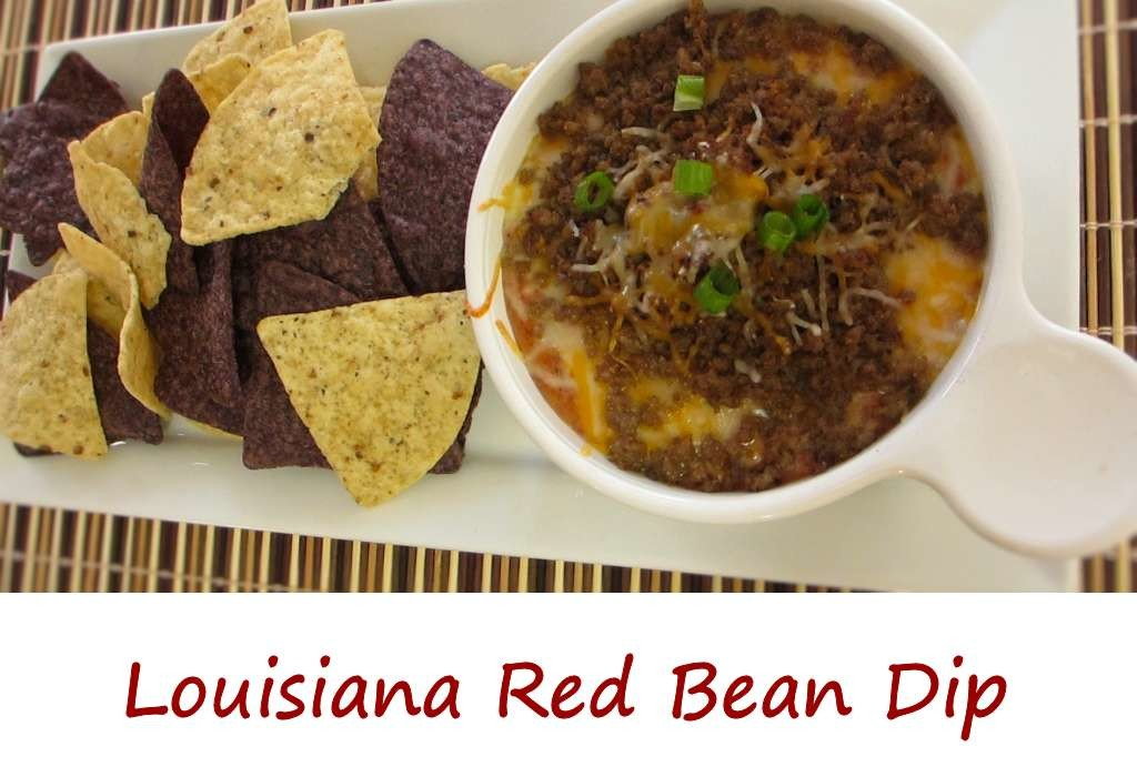 Louisiana Red Bean Dip