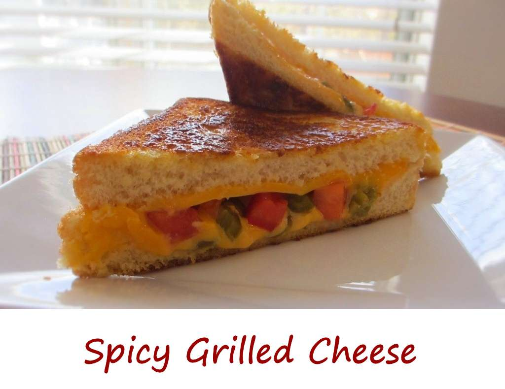 Spicy Grilled Cheese - Life's A TomatoLife's A Tomato