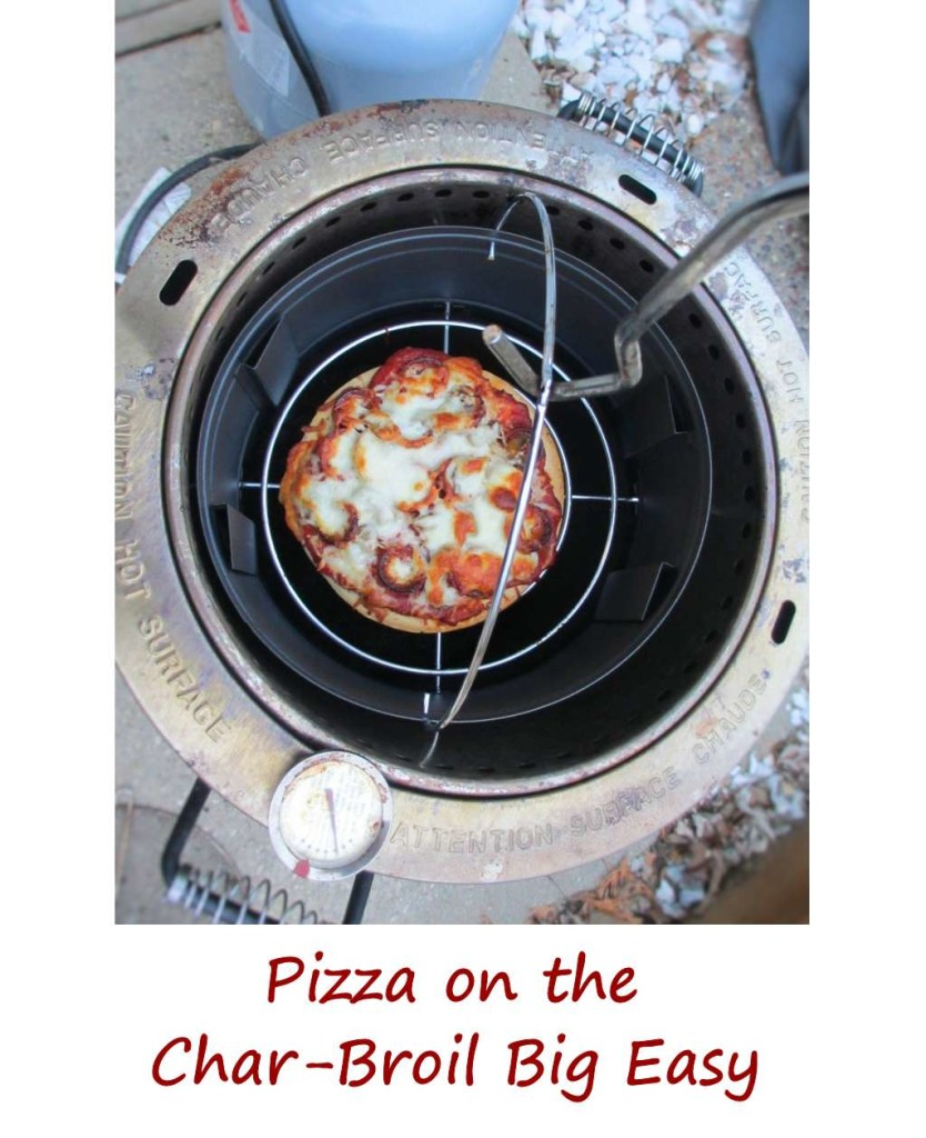 Pizza on the Char-Broil Big Easy