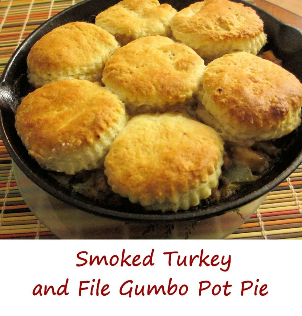 Smoked Turkey and File Gumbo Pot Pie