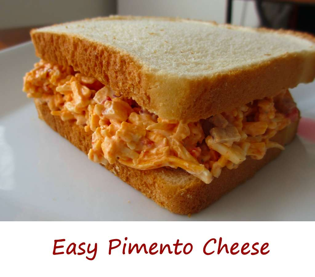 Easy pimento cheese isn't just great on bread. I love it on baked ...