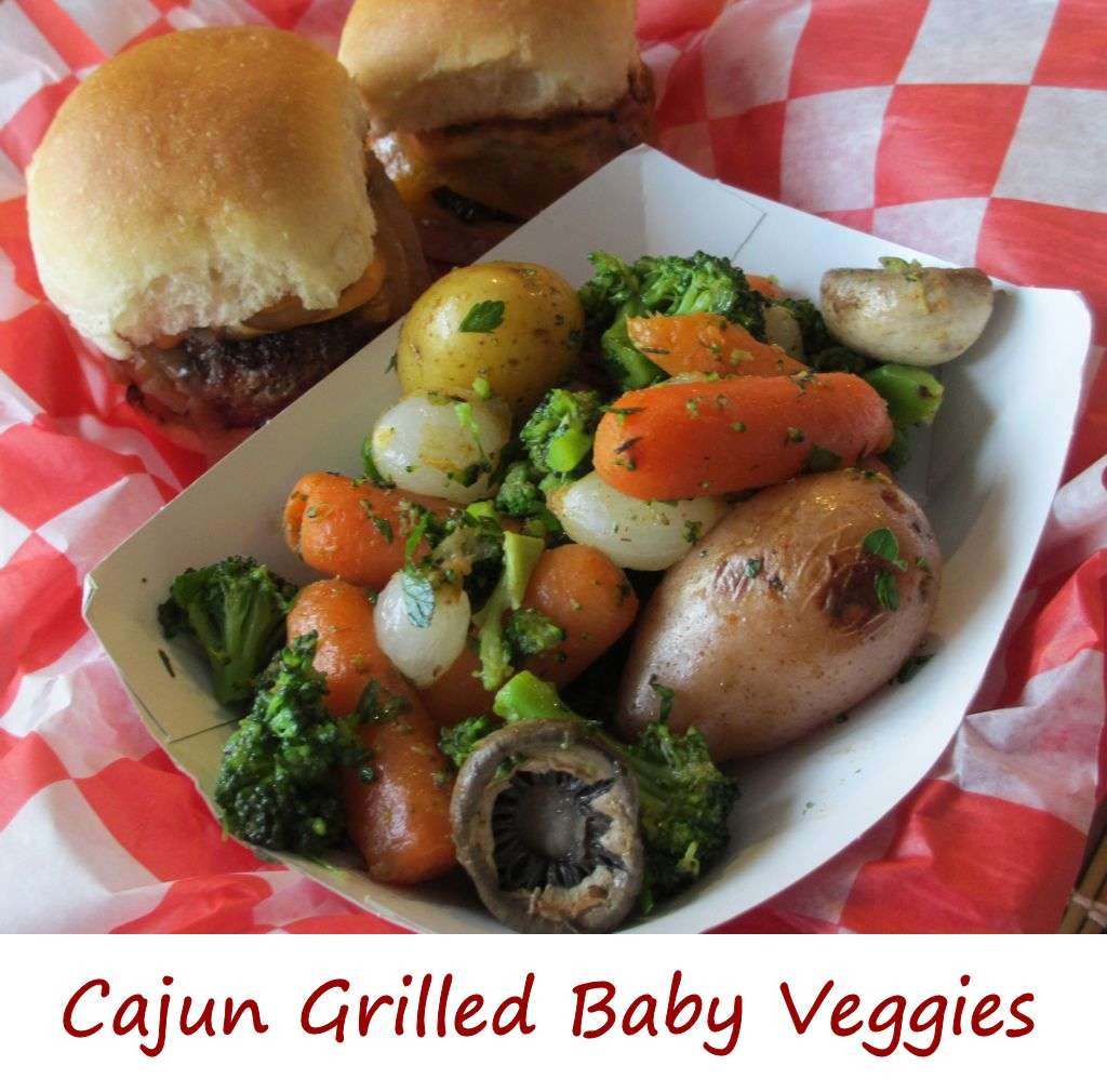 Cajun Grilled Baby Veggies