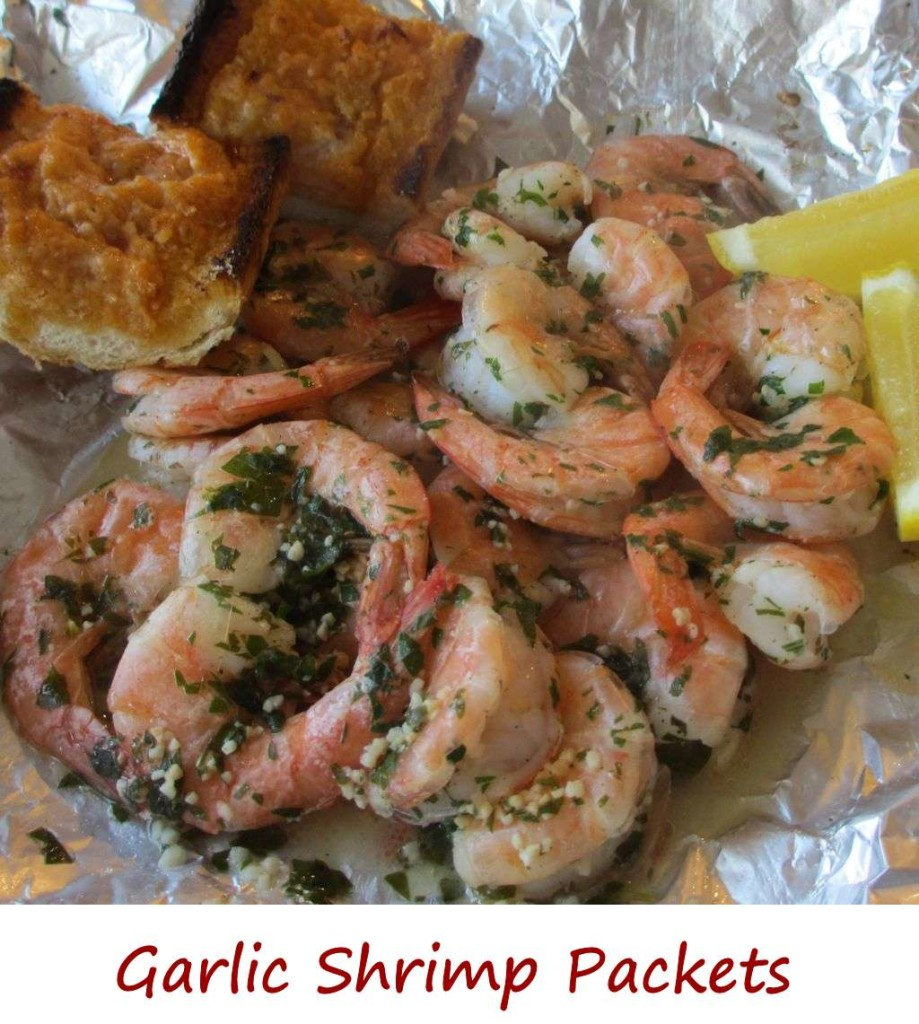 Garlic Shrimp Packets