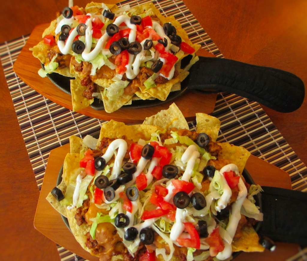 Chopped Smoked Beef Nachos
