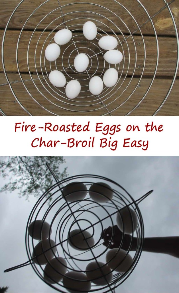 Fire-Roasted Eggs on the Char-Broil Big Easy